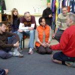...Lehrer-Schüler-Gespräche werden geführt...